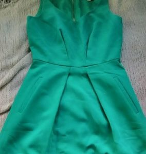 "Ann Taylor Loft "" Emerald City"" Green sheath dress"